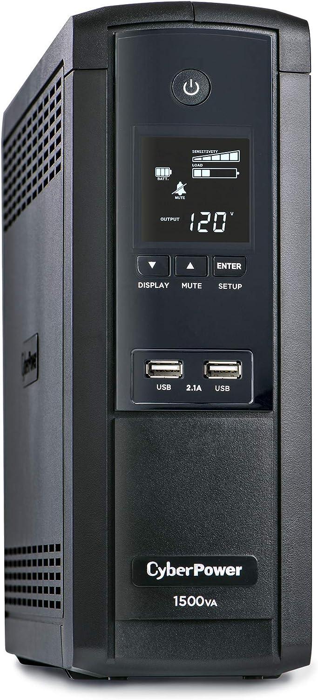 CyberPower BRG1500AVRLCD Intelligent LCD UPS