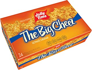 product image for Jolly Time The Big Cheez Flavored Microwave Popcorn (Bulk 24 Pack Box), Cheddar, 72 Ounce