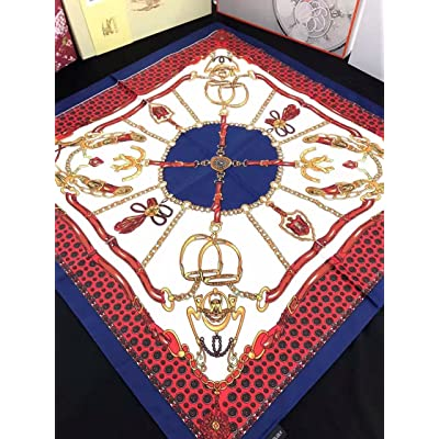 aaaae2417ef Foulard Foulard d été WY-écharpe de mode petit carré Foulard Foulard  Occasion impression