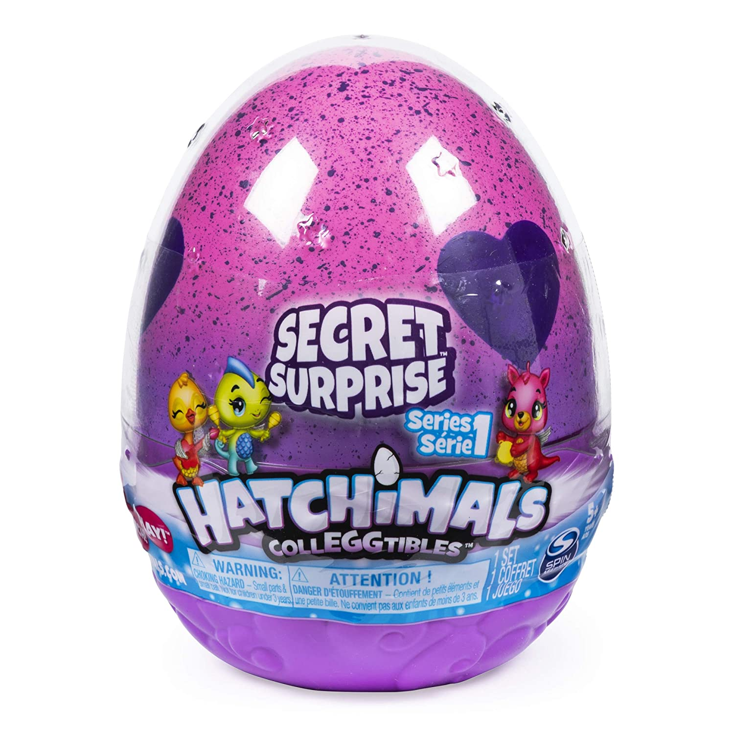 Hatchimals CollEGGtibles, Secret Surprise Playset with 3 (Styles May Vary)