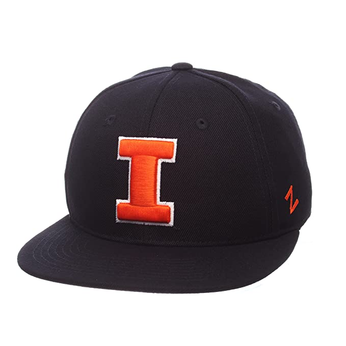 free shipping 4ebd6 84c7f Amazon.com   Zephyr NCAA Mens M15 Fitted Hat   Clothing