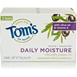 Tom's of Maine Moisturizing Bar, Daily Moisture, 2 Count