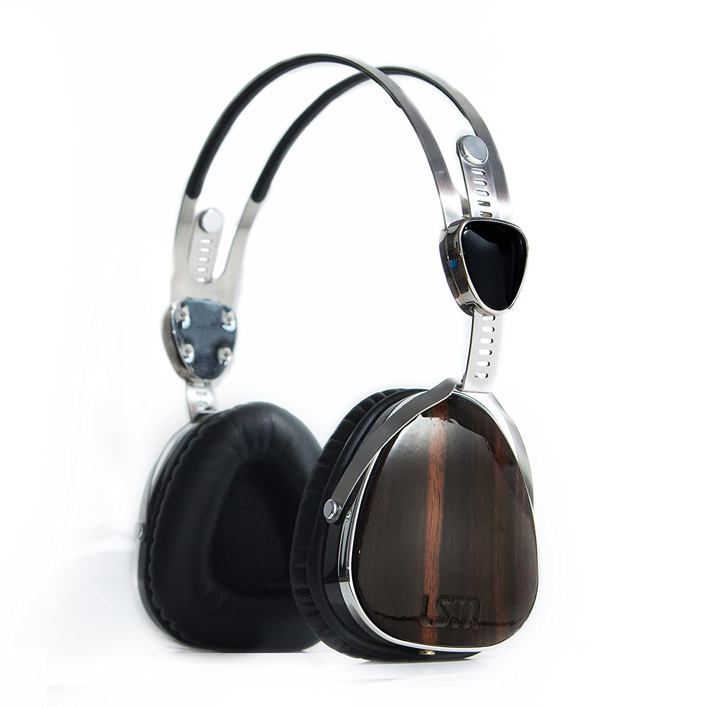 Lstn Troubadours Over-The-Ear Hp s Ebony Wood  Amazon.co.uk  Electronics a0e7f9c463
