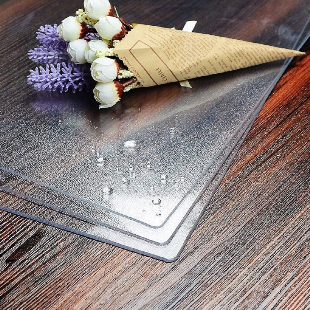 LovePads Multi Size 2mm Thick Custom Matt PVC Table Cover Protector | Desk Mat 42 x 104 Inches (107 x 264cm) by DiscoverDecor (Image #3)