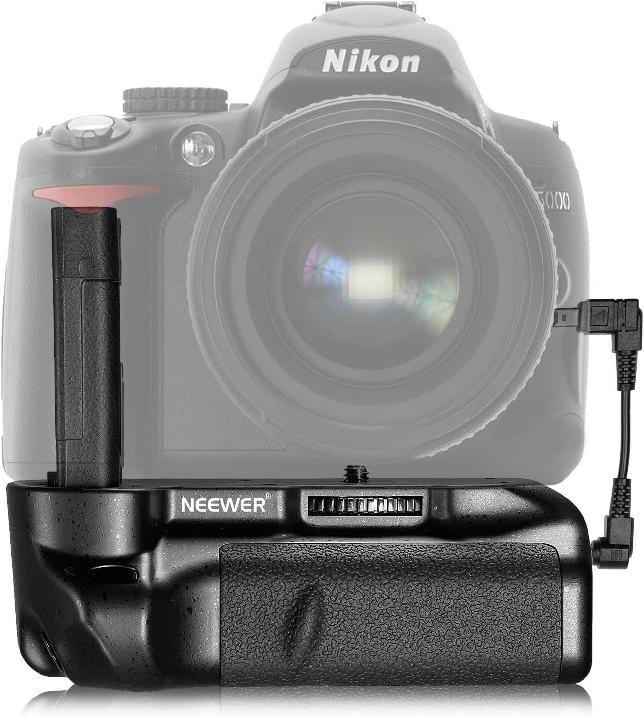 Neewer – 10002661 Pro empuñadura de batería Vertical empuñadura de ...