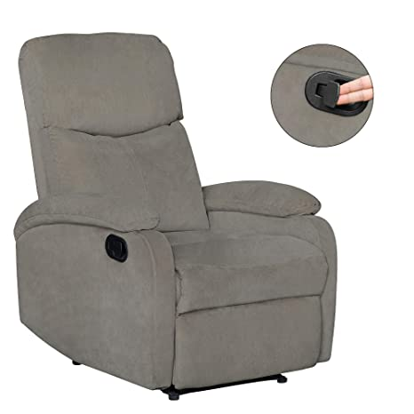 Prime Adjustable Recliner Chair High Back Home Theater Single Fabric Recliner Sofa Furniture Chair For Living Room Modern Comfortable Functional Recliner Creativecarmelina Interior Chair Design Creativecarmelinacom