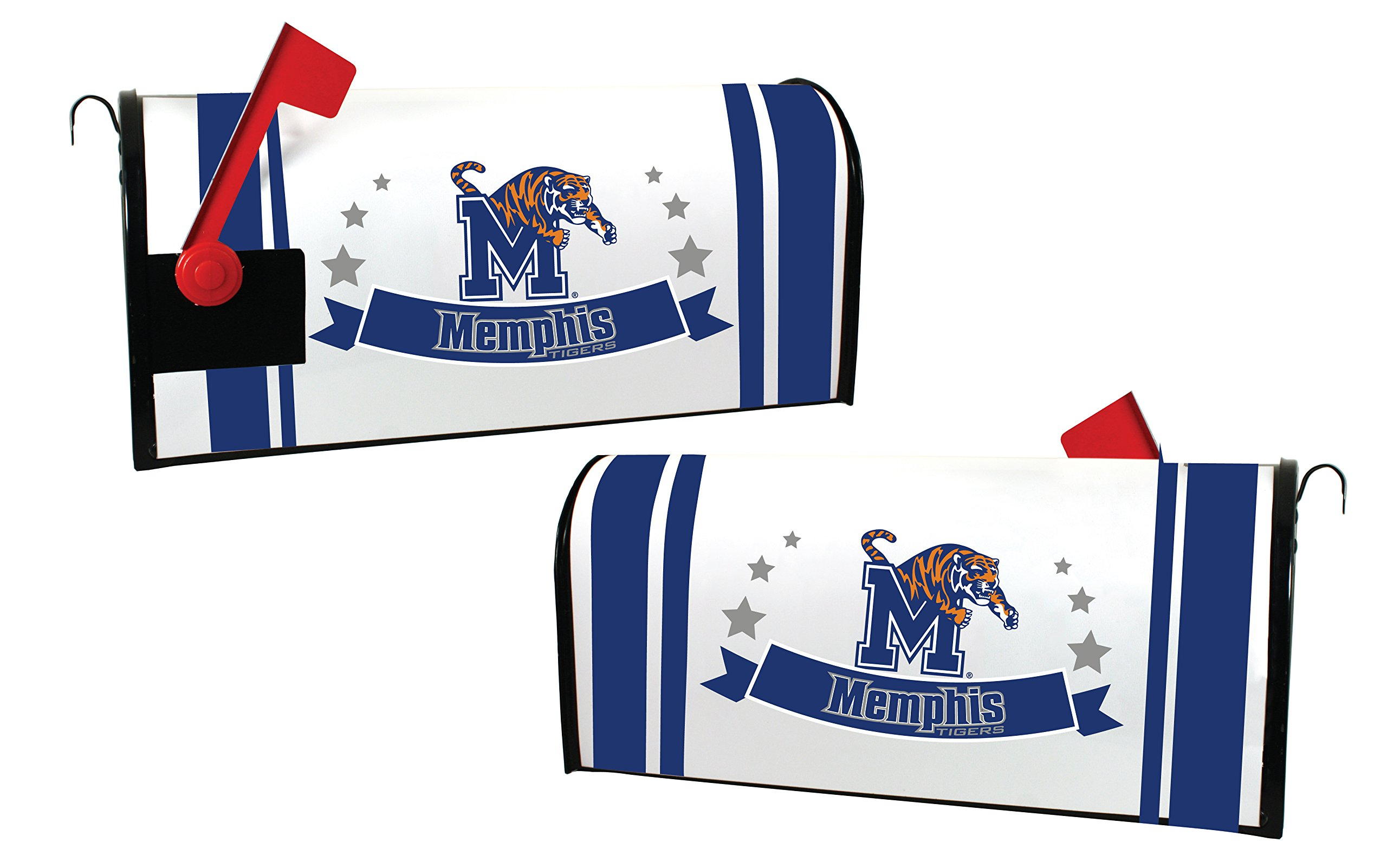 MEMPHIS TIGERS MAILBOX COVER-UNIVERSITY OF MEMPHIS MAGNETIC MAIL BOX COVER-NEW FOR 2016!