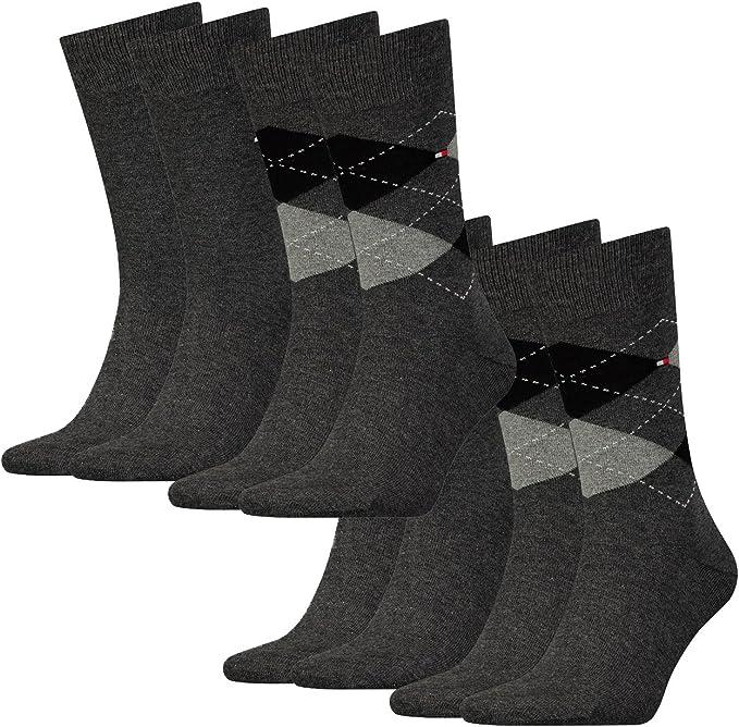 Tommy Hilfiger - Calcetines para hombre (4 unidades): Amazon.es: Ropa y accesorios