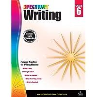 Spectrum | Writing Workbook | 6th Grade, 136pgs