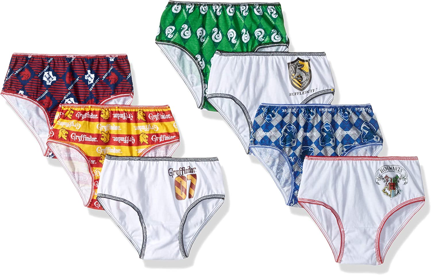 HARRY POTTER Girls Hogwarts Underwear Pack of 4