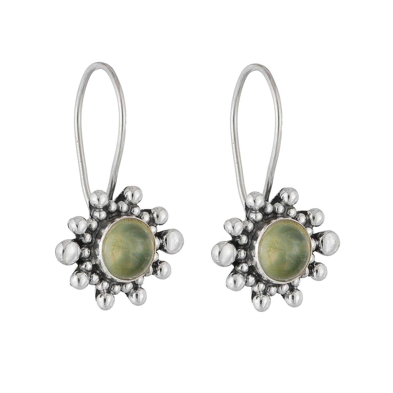Ethnic Prenite Earrings