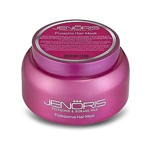 Jenoris Pistachio and Borage Oil Professional Pistachio Hair Mask