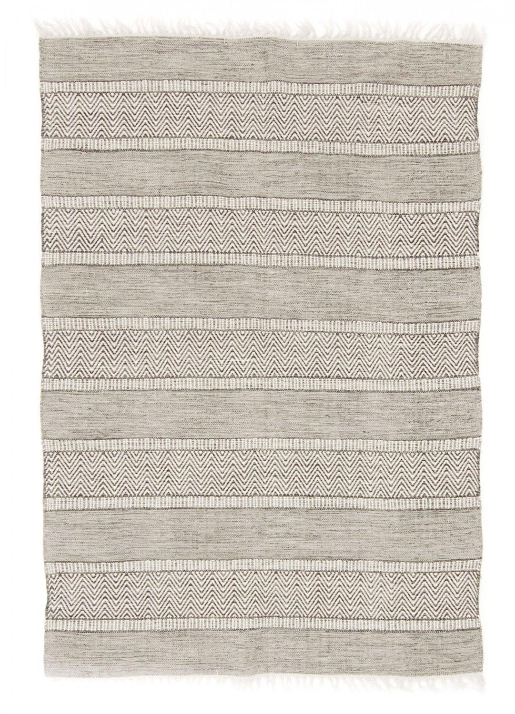 Trendcarpet Flickenteppich von Strehög of Sweden - Havtorn (grau) Größe 160 x 230 cm