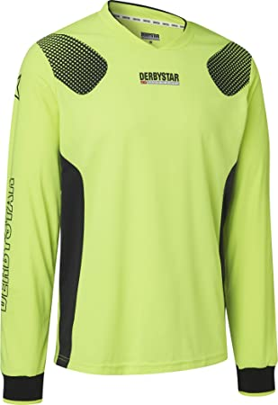 the latest bc8b2 7d884 Derby Star Niños Aponi Pro Camiseta de Portero, Infantil, Color Amarillo  Negro, tamaño