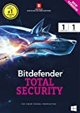 BitDefender Total Security Latest Version - 1 Device, 1 Year (Voucher)