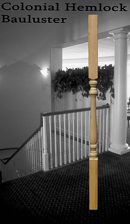 Hemlock Wood Baluster Spindle (Colonial) 2u0026quot; X 12u0026quot; ...