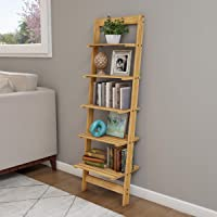 Lavish Home 5 Tier Book Shelf