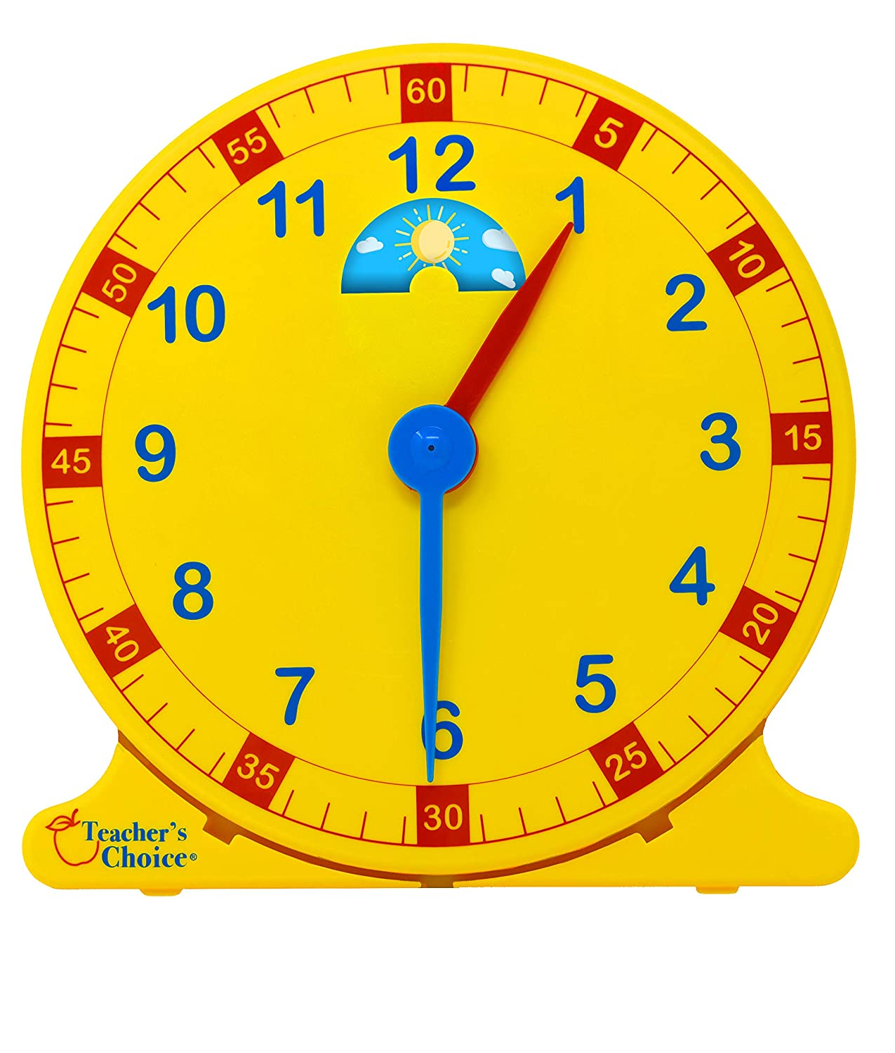 Learn How to Tell Time Teaching Clock – Large 12