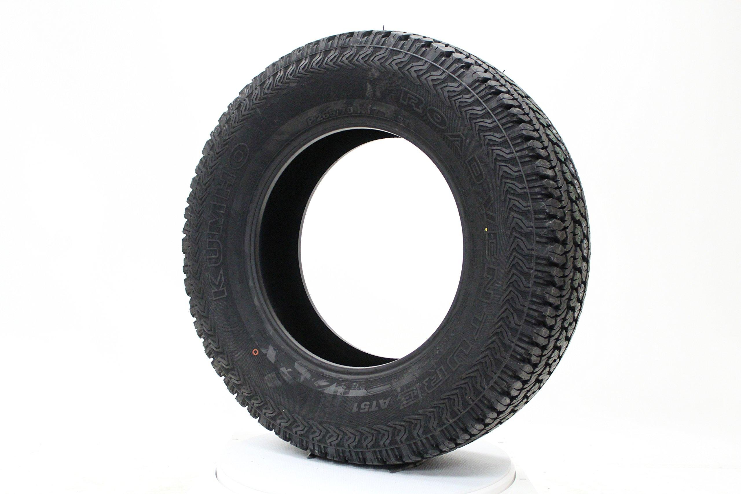 Kumho Road Venture AT51 all_ Season Radial Tire-P265/75R16SL 114T