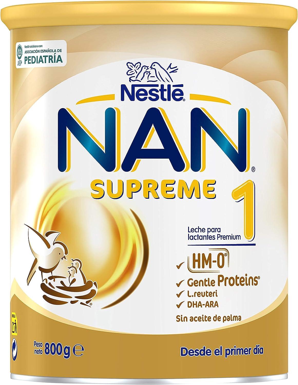 Nan Supreme 1Leche para Lactantes en Polvo Premium Fórmula ...