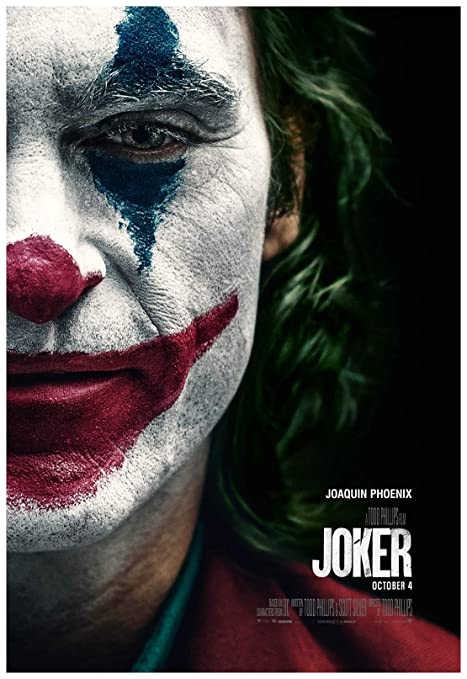 Image result for joker movie poster
