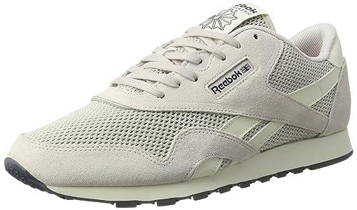 Reebok Nylon, Zapatillas para Mujer, Gris (Lilac Ash/Classic White/Lead/Primal Red), 35 EU: Amazon.es: Zapatos y complementos