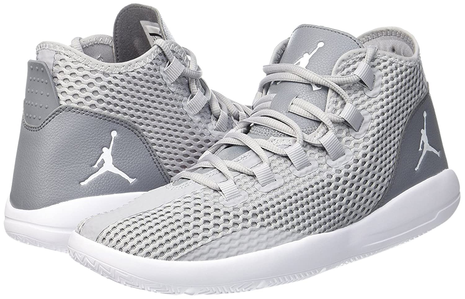 sports shoes f7b61 c5a45 Amazon.com   Jordan REVEAL mens basketball-shoes 834064-003 9.5 - WOLF GREY WHITE-COOL  GREY-INFRARED 23   Basketball