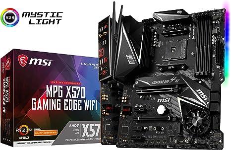 MSI Mpg X570 Gaming Edge Wi-Fi - Placa Base (Chipset AMD X570 ...