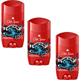 Old Spice Wild Collection Antiperspirant & Deodorant Krakengard 2.6 oz (Pack of 3)