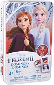 Cardinal Games Disney Frozen 2 Dominoes in Storage Tin, Multicolor (6054506)