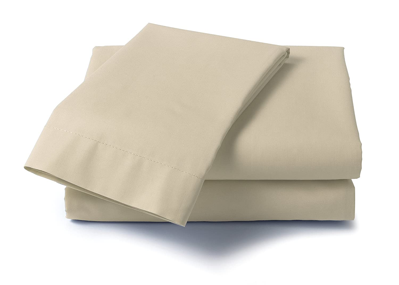 Dreamz 400 Thread Count Specialty Size Sheet Set for Queen Size Memory Foam Mattress Blue 21203