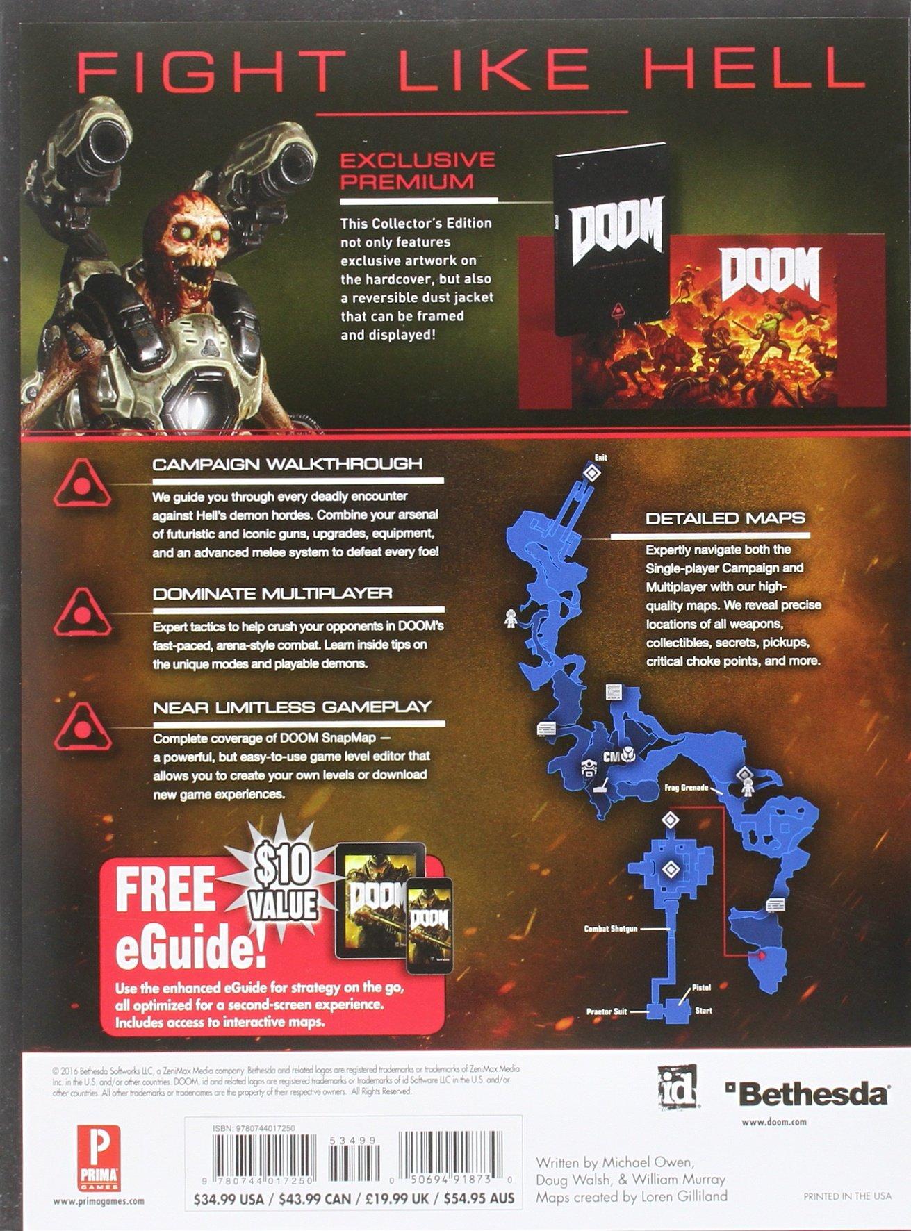 DOOM: Prima Collector's Edition Guide: Prima Games