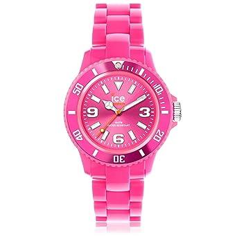 Ice-Watch - ICE solid Pink - Montre rose pour femme avec bracelet en  plastique 61ac46fd7688
