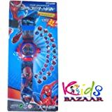 Kids Bazaar Digital Spider Man Boy's Projector Watch