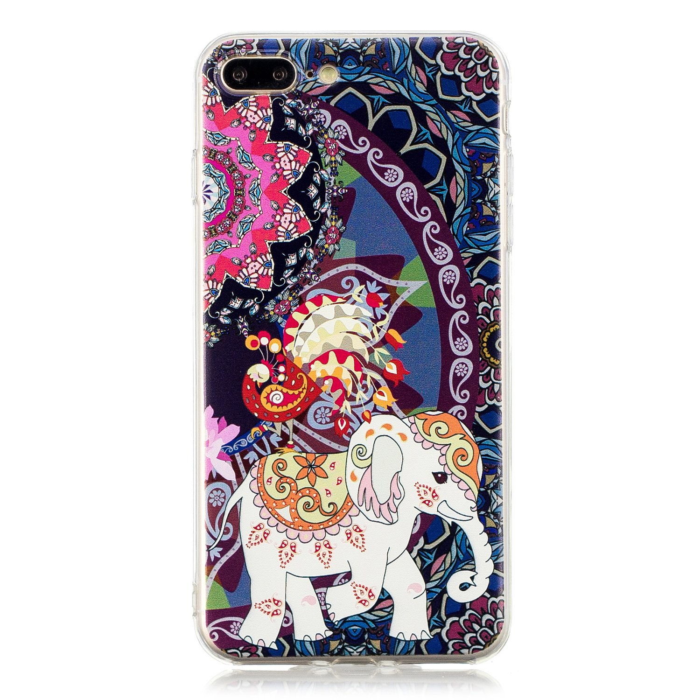 Coque iPhone 5 5s SE YYX iPhone 5s Housse Etui Ultra Mince Premium Doux Rubber Silicone Coque Cristal Clair TPU Gel Bumper Bonjour panda