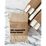 100% Compostable Kitchen Sponges, pack of 2
