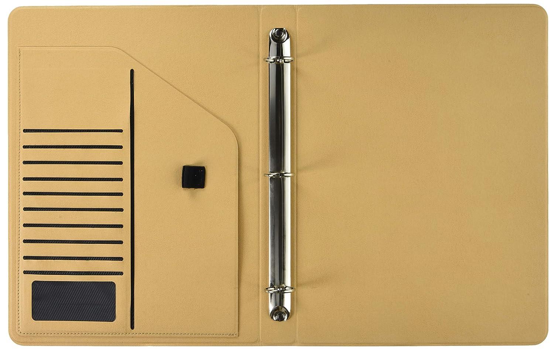 office document 3 ring binder portfolio with 1 inch round ring