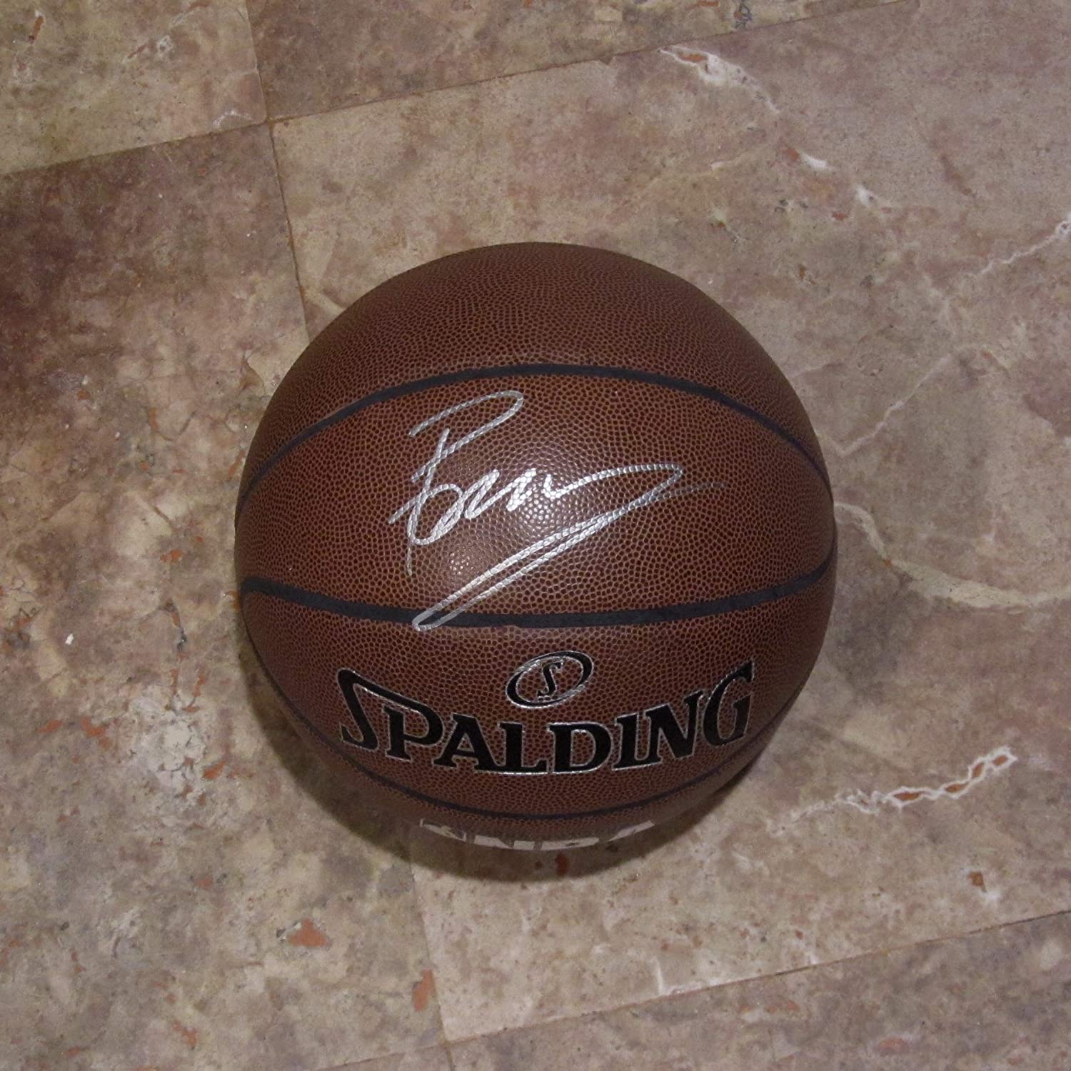 31e0d0cd189c6d KRISTAPS PORZINGIS AUTOGRAPHED Hand SIGNED Official Size BASKETBALL New  York KNICKS w COA at Amazon s Sports Collectibles Store