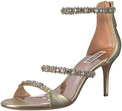 c656acdb07d7 Amazon.com  Badgley Mischka Women s Yasmine Heeled Sandal  Shoes