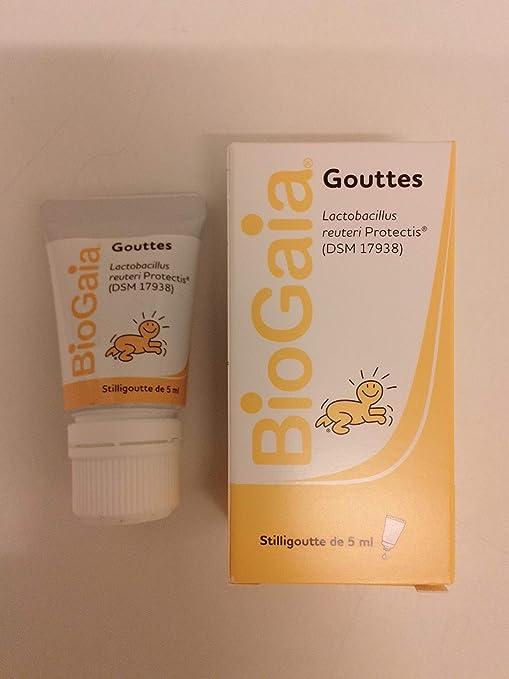 Biogaia - Solución probiótica vía oral con dosificador de gotas para niño 5 ml