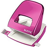 Leitz Wow Hole Punch Pink