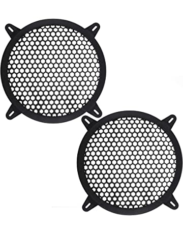 amazon speaker grills electronics Cell Audio bluecell 2pcs plastic 7 5 inner diameter auto speaker parts car audio grill cover guard protector