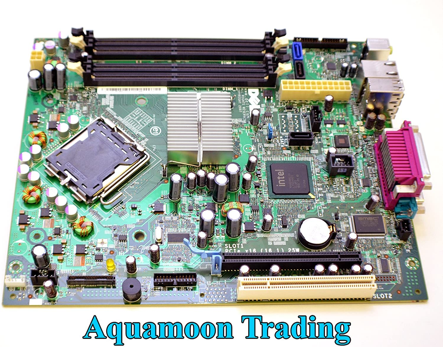 Dell New Genuine OEM Optiplex 755 SFF Small Form Factor Motherboard Main Logic System Board Intel LGA fits 760 PU052 WF810 JR269