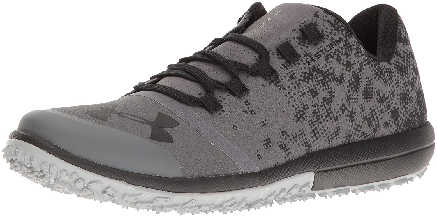 Under Armour Men's Speed Tire Ascent Low Running Shoe B01GP1HBQS 11.5 M US|Rhino Gray (076)/Black