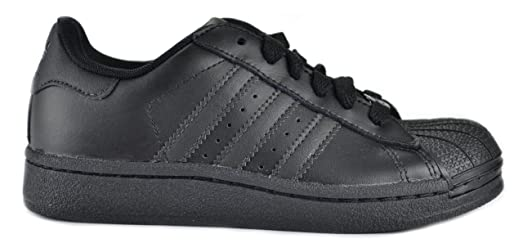 Adidas Superstar 2 Originals Preschool Kids Black Sneakers Black 676603-12