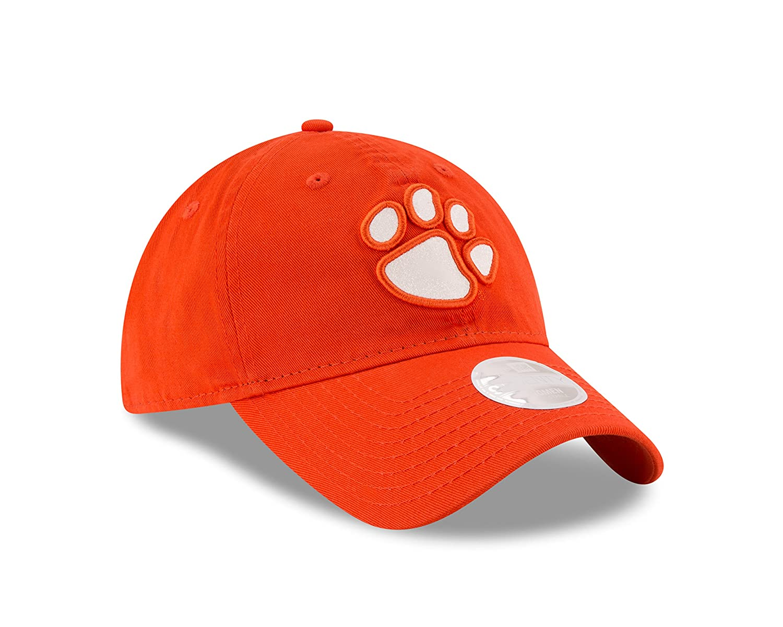 lowest price 3040c 21162 Amazon.com   NCAA Clemson Tigers Women s Team Glisten 9TWENTY Cap, One Size,  Orange   Sports   Outdoors