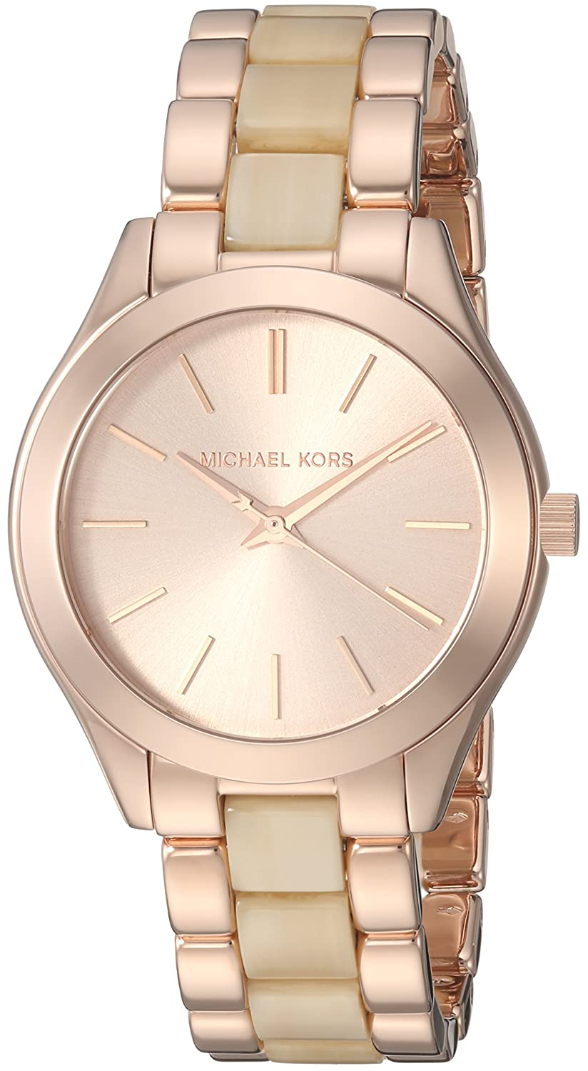53264f3741de Buy Michael Kors Analog Rose Gold Dial Women s Watch-MK3701 Online at Low  Prices in India - Amazon.in