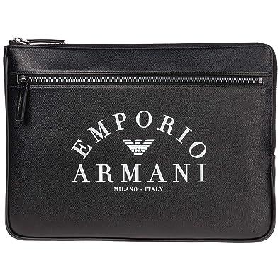 Emporio Armani bolsas de mano hombre black: Amazon.es ...