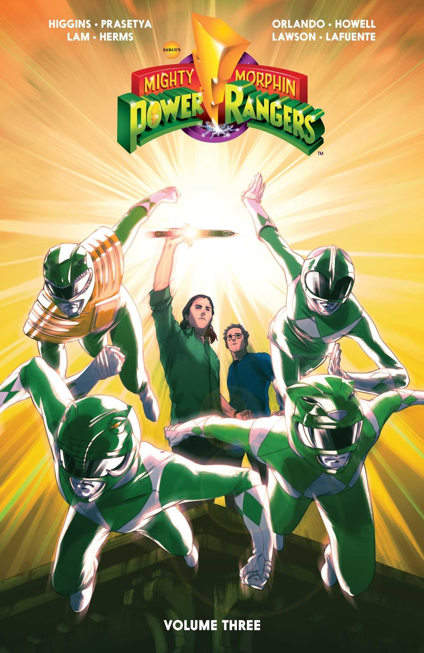 amazon mighty morphin power rangers vol 3 hendry prasetya