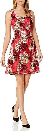 Pappagallo Womens The Carrot Dress Sleeveless Dress